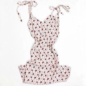 Reformation Rose Print Midi Dress